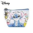 【日本正版】史迪奇 船型 零錢包 收納包 小物收納 Stitch 迪士尼 Disney - 078127