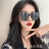新款潮墨鏡女韓版潮大框ins街拍圓臉顯瘦網紅個性太陽眼鏡男 流行花園