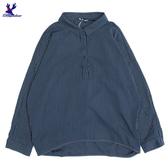 【秋冬新品】American Bluedeer - 細條落肩襯衫 秋冬新款