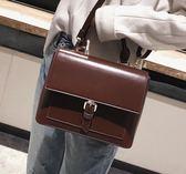女生大包包 手提包 2018韓版女包包 新款時尚公文包 複古簡約女包 潮時尚百搭 單肩包 女款斜背包