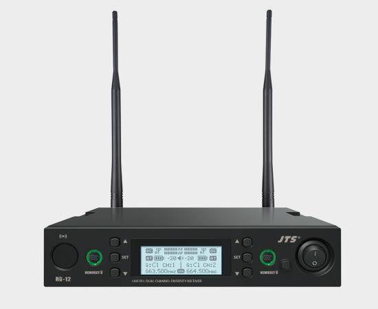 凱傑樂器 JTS RU-12TH 無線麥克風 雙手握 高解析度音質 公司貨