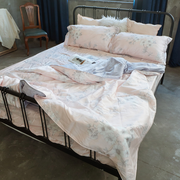天絲(60支) S1單人薄床包二件組 專櫃級 多款可選 100%天絲 棉床本舖