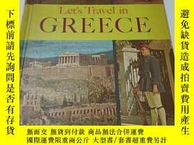 二手書博民逛書店let s罕見travel in greece 精裝Y9212