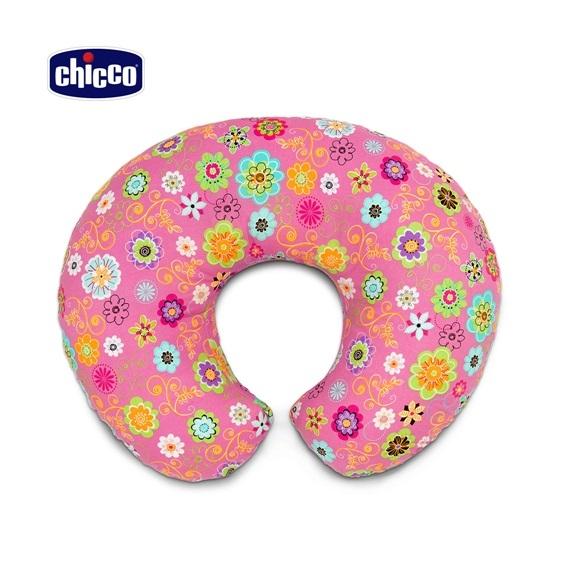 歐美大明星 潔西卡艾芭也愛用-Boppy純棉多功能授乳-枕粉紅花漾★限時特價★