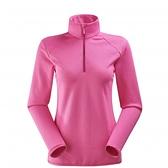 [好也戶外]Eider法國 Powerstretch女保暖長袖立領衫/靛藍/灰/桃粉/水藍 No.8EIV4360