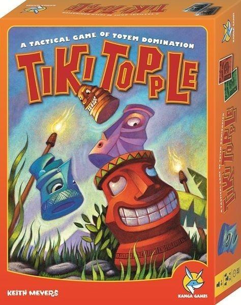 【Kanga 楷樂】推倒提基 Tiki Topple 桌上遊戲