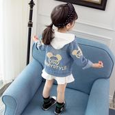 兒童裝女童秋裝新款韓版潮衣洋氣女寶寶1-3歲4春秋季牛仔外套【限時八五折】