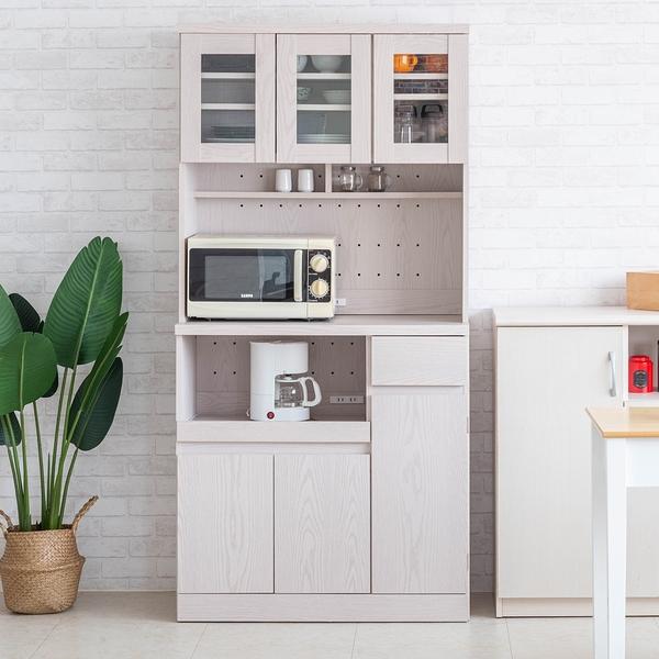 櫥櫃 廚房櫃 收納【收納屋】多格收納廚房櫃&DIY組合傢俱