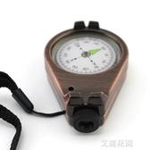 戶外登山指北針車載汽車羅盤指南針品質機芯準確度高『艾麗花園』