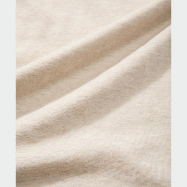 CHUMS 日本 女 有機棉 Sunset Camp 短袖T恤 霧米白 CH111356W003