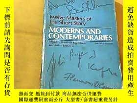 二手書博民逛書店MODERNS罕見AND CONTEMPORARIESY1037