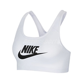 Nike 運動內衣 Swoosh Futura Bra 白 中度支撐 可拆襯墊 有氧 瑜珈【ACS】 CN5263-100