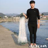 魚網/漁具加重1米6分三層粘網小白條捕魚絲網鯽魚掛網沾網漁網抓魚 igo 艾家生活館