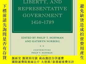 二手書博民逛書店Fiscal罕見Crises, Liberty, And Representative Government 14