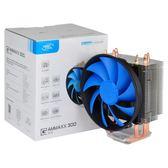 九州風神玄冰300 cpu散熱器靜音1155熱管775臺式機amd電腦CPU風扇