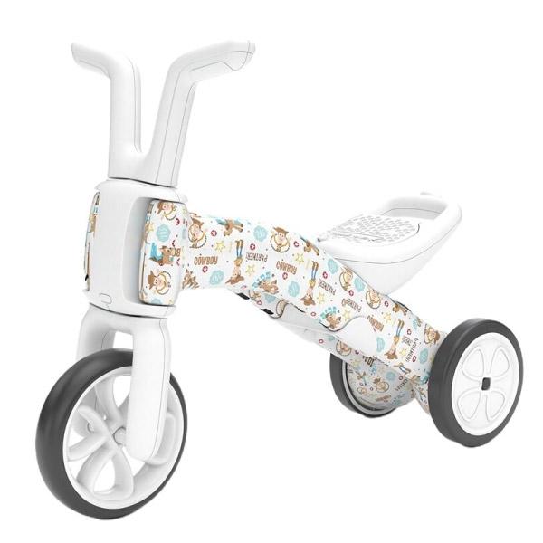 【加贈星寶貝防曬霜89ml】比利時 Chillafish 玩具總動員學步平衡車|三輪車|學步車