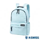 K-SWISS Poly Backpack時尚後背包-水藍
