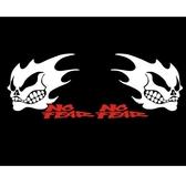 搞怪骷顱貼 貼紙 車貼 遮刮痕 TOYOTA MAZDA HONDA 三菱 現代 SUZUKI FORD A0576