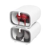 鞋盒 鞋盒收納盒辦公室鞋子收納神器公司放鞋換鞋密封防塵簡易省空間-Milano米蘭