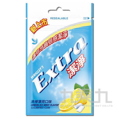 Extra Clean益齒達潔淨無糖口香糖-清檸薄荷