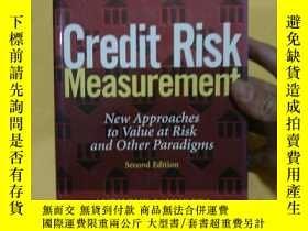 二手書博民逛書店Credit罕見Risk Measurement: New Ap