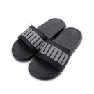 PUMA POPCAT 20 REFLECTIVE 運動拖鞋 黑灰 368677-01 女鞋