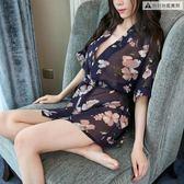 情趣內衣服套裝騷和服性感開襠緊身制服女三點式