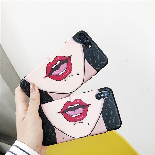 【SZ14】自拍擋臉TPU軟殼 iphone XS MAX手機殼 iphone 7/8 Plus 手機殼 6s plus XR手機殼