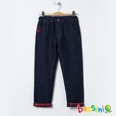 【歲末出清】保暖針織牛仔褲牛仔藍-bossini男童