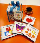 【幼兒認知學習書.禮盒組】LITTLE LIBRARY /袋裝,內含10本小書