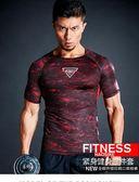 三件套運動短袖訓練彈力緊身透氣健身套裝