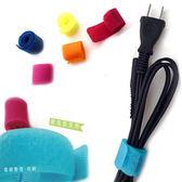 Kiret USB集線器 耳機集線器 魔鬼氈電線收納