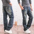 台灣製造復古鬼洗牛仔褲...