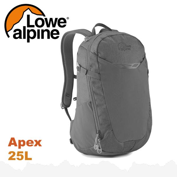 【 LOWE ALPINE 英國 Apex 25 多功能後背包《瀝青灰》25L】FDP-41/雙肩背包/電腦包/登山包★滿額送