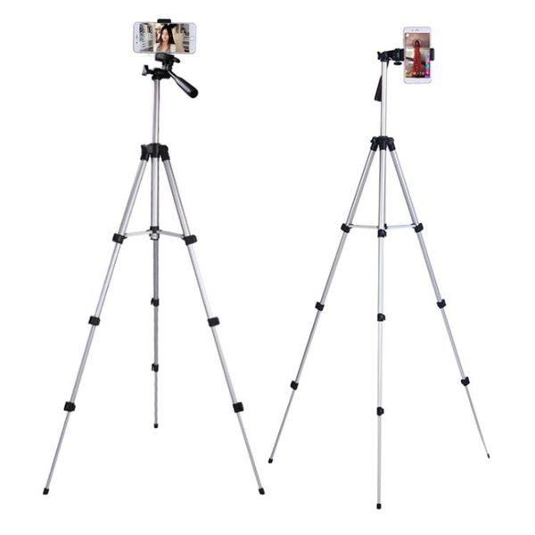 鋁合金相機手機三腳架拍照自拍攝影DV卡片通用三角支架夾wy【七夕8.8折】
