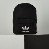 Adidas SMALL AC BL BP 黑 三葉草 運動 休閒 後背包 GD4575