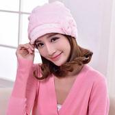 月子帽子防風保暖產婦產後用品秋冬款頭巾韓版時尚孕婦帽 免運直出