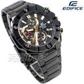 CASIO卡西歐 EDIFICE EFR-569DC-1A 粗曠大錶圈 賽車錶 三眼錶 計時碼表 男錶 EFR-569DC-1AVUDF