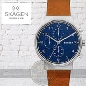 SKAGEN丹麥設計品牌北歐紳士計時腕錶SKW6358公司貨/極簡/禮物/情人節/北歐/設計師