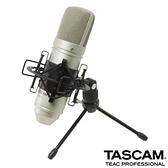 【南紡購物中心】TASCAM 電容式麥克風 TM-80 銀色