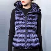 輕羽絨背心外套-冬裝新款拉鍊修身女背心3色72x4【巴黎精品】
