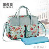 時尚單肩多功能大容量手提媽咪包母嬰外出包推車掛包防水媽媽包 ⊱歐韓時代⊰