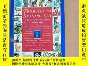 二手書博民逛書店From罕見Sea to Shining Sea: A Treasury of American Folklore