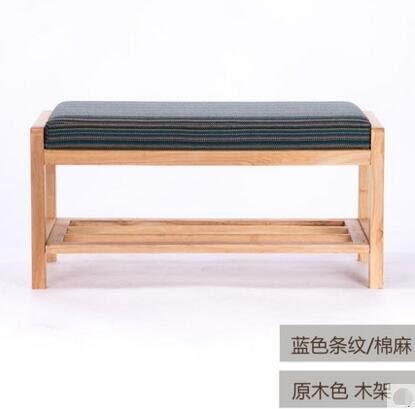 新品 實木換鞋凳玄關簡約鞋櫃鞋架穿鞋凳收納儲物布藝沙發凳7(主圖款)