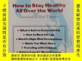 二手書博民逛書店大32開英文原版罕見Travelers health:How