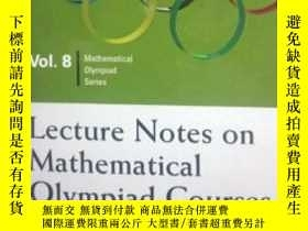 二手書博民逛書店Lecture罕見Notes on Mathematical Olympiad Courses: For Seni
