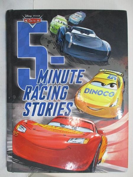 【書寶二手書T1/少年童書_JNG】Cars 5-minute Racing Stories_Disney Press (COR)