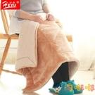 加厚小毛毯被子單人三層珊瑚絨毯子蓋腿棉絨辦公室午睡毯【淘嘟嘟】
