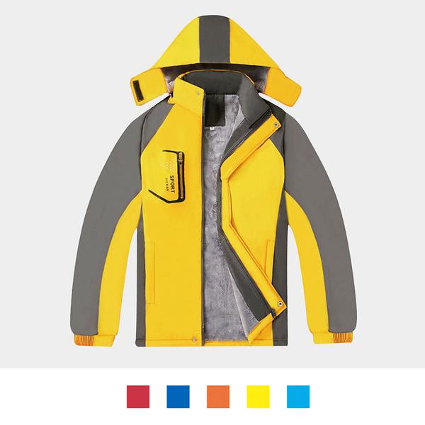 【晶輝團體制服】HM1828*經典防風防潑水衝鋒外套(似GORE-TEX)內裡鋪錦超保暖色(免費印字)