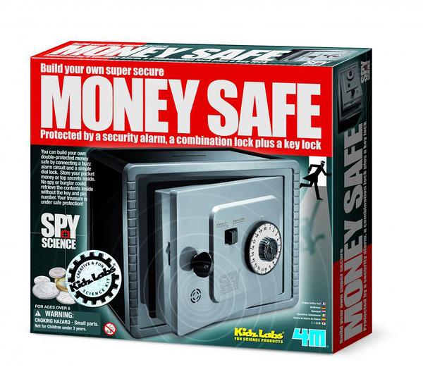 間諜防盜保險箱 Money Safe 終極密碼迷你金庫